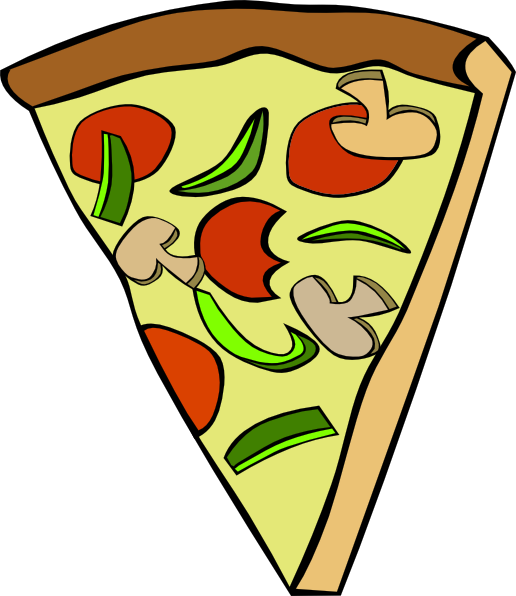 Triangle clip art images. People clipart pizza