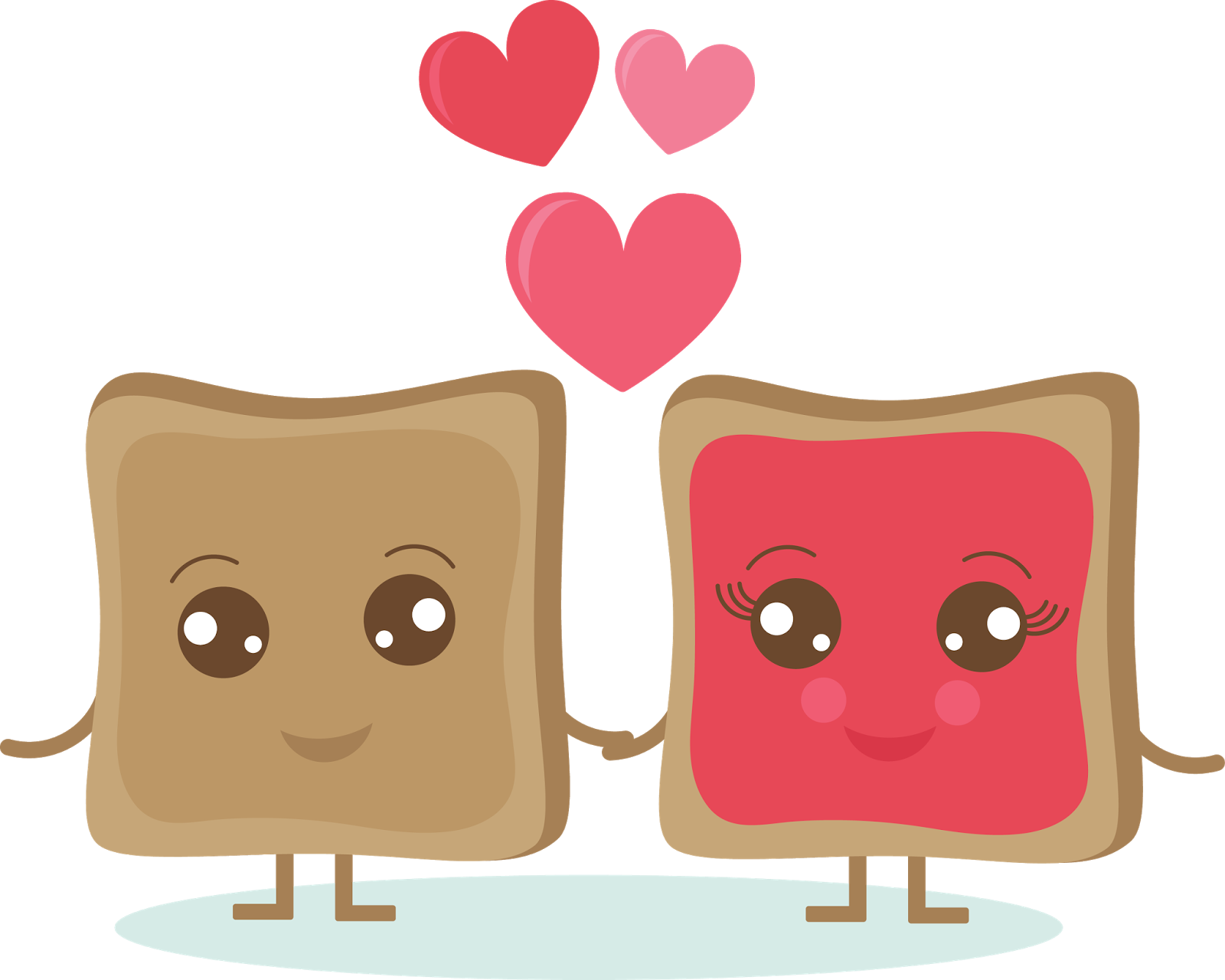 Valentine food . Clipart lunch home