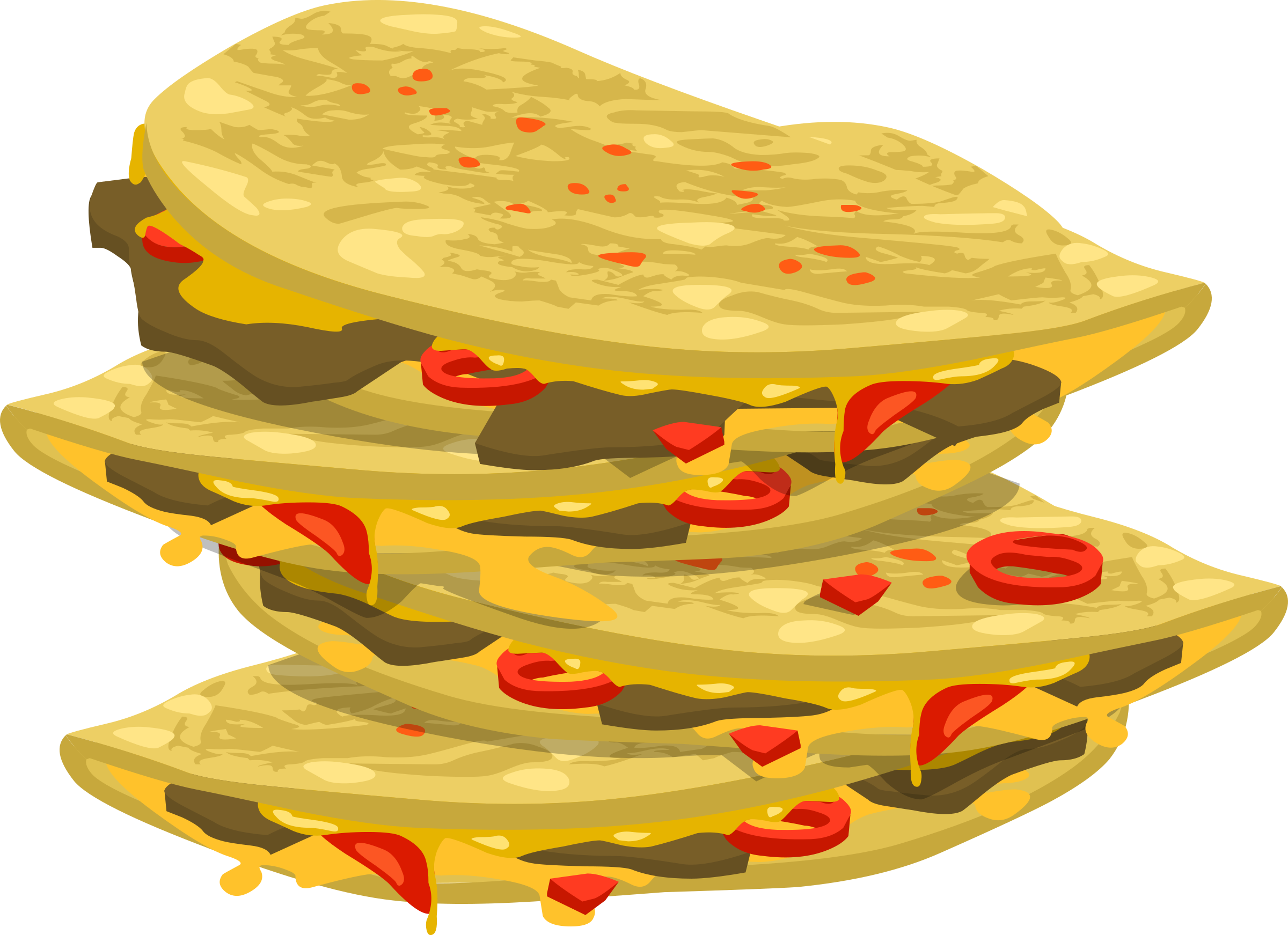 Spicy quesadilla icons png. I clipart food