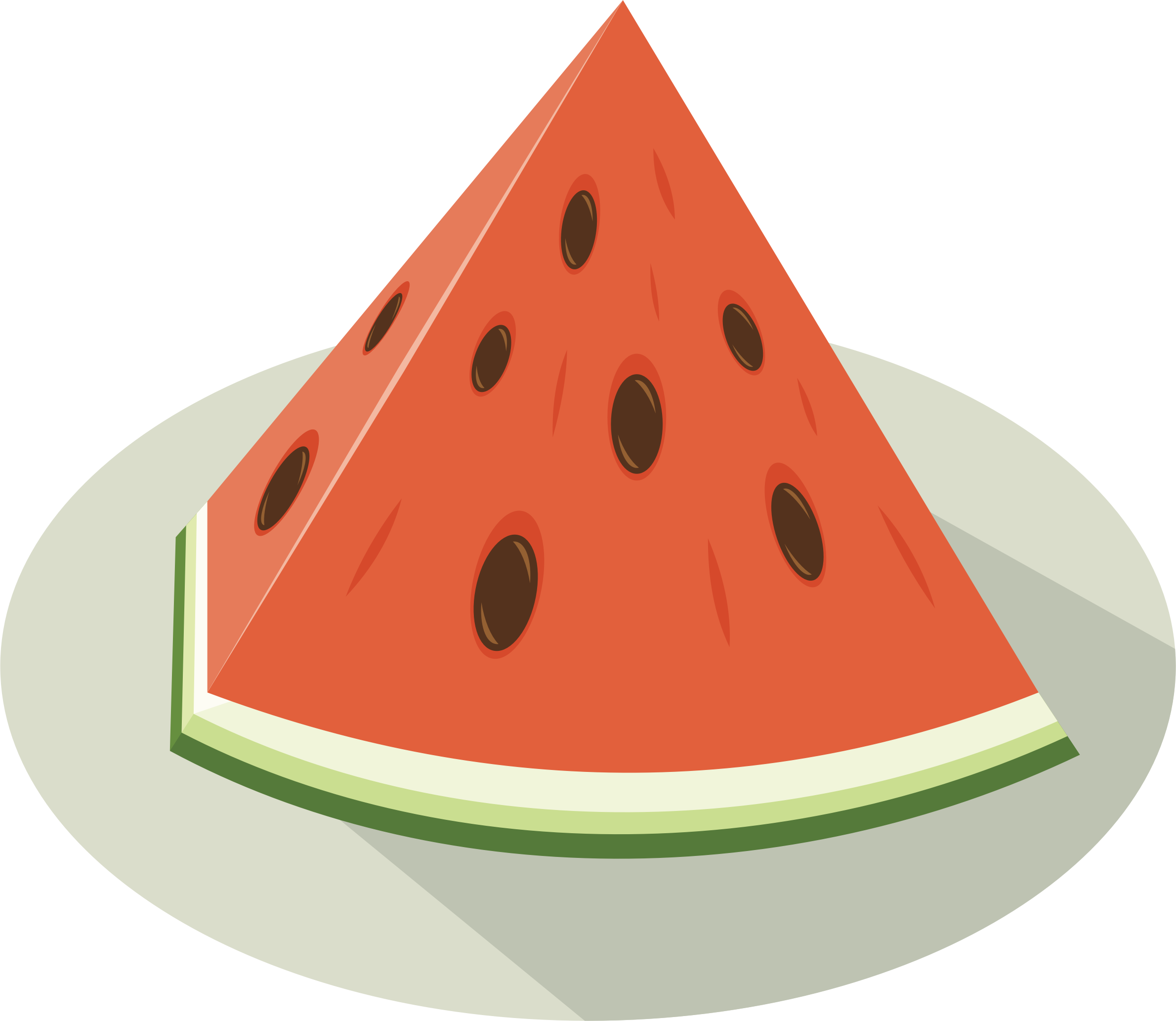 Slice big image png. Watermelon clipart small watermelon