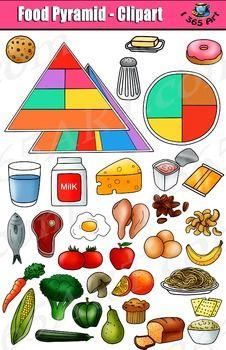 Pyramid set kid s. Clipart food wheel