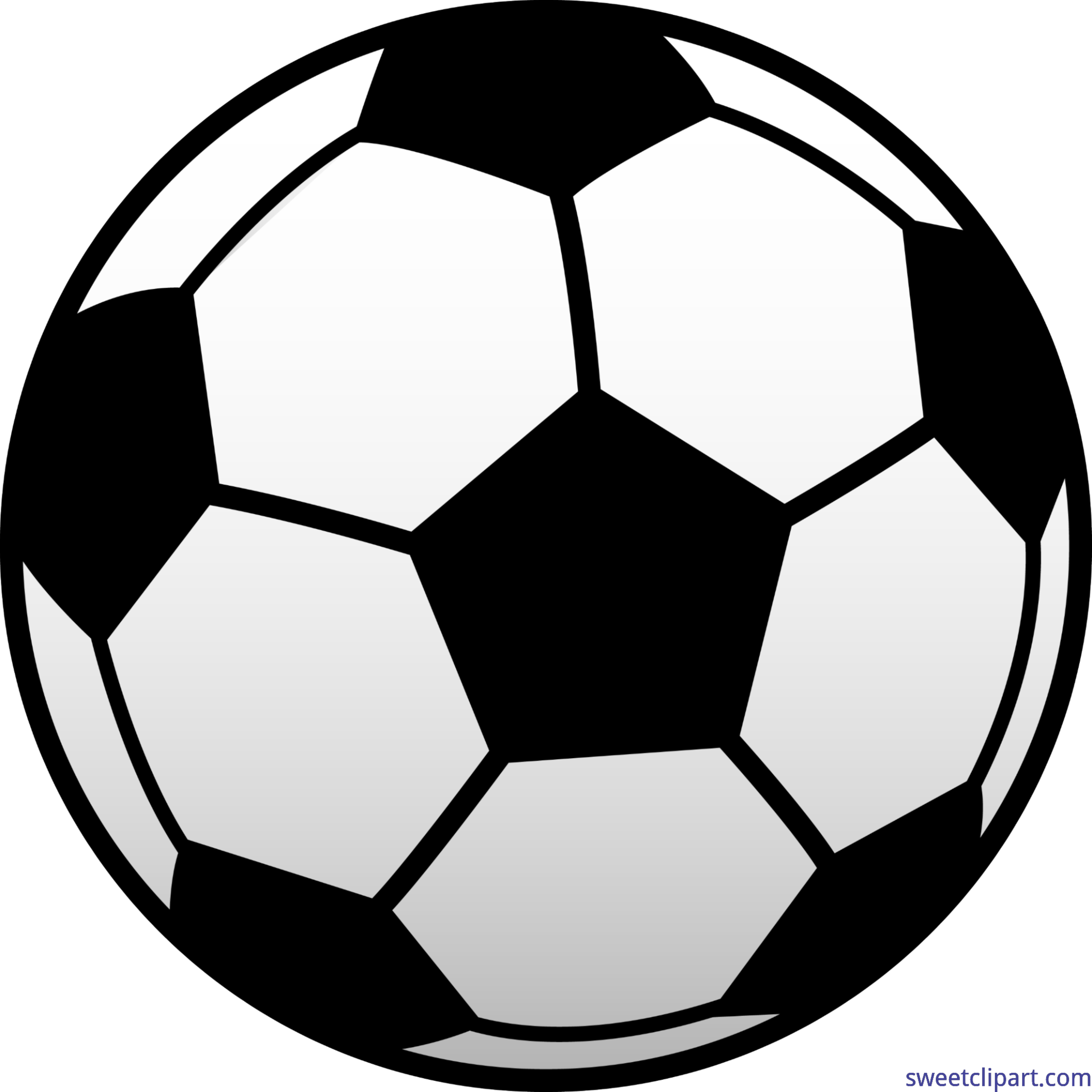 Clipart football. Soccer ball futbol clip