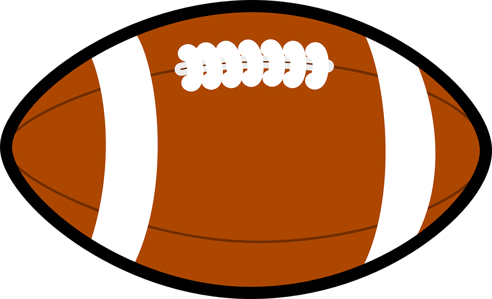 Clipart football. American ball png image