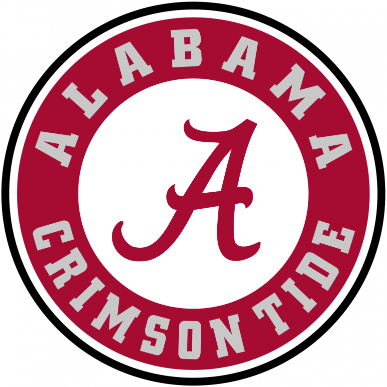 University of free download. Clipart football alabama