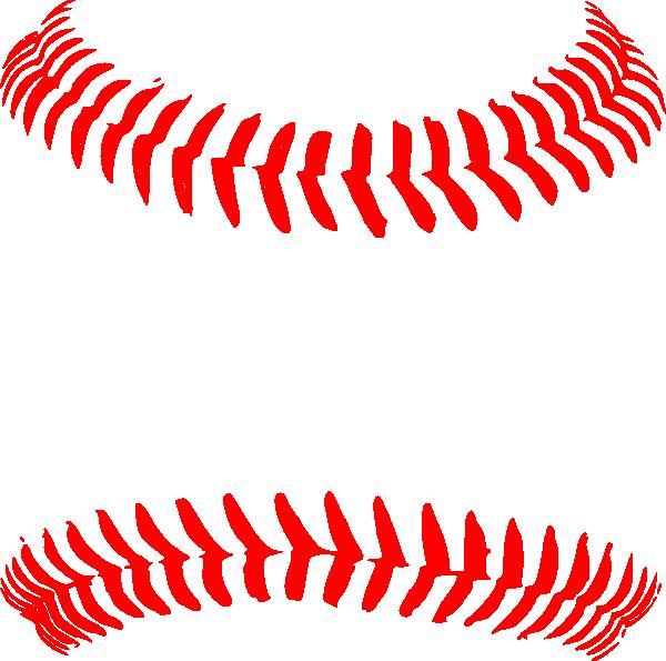 Red seams clip art. Clipart football baseball