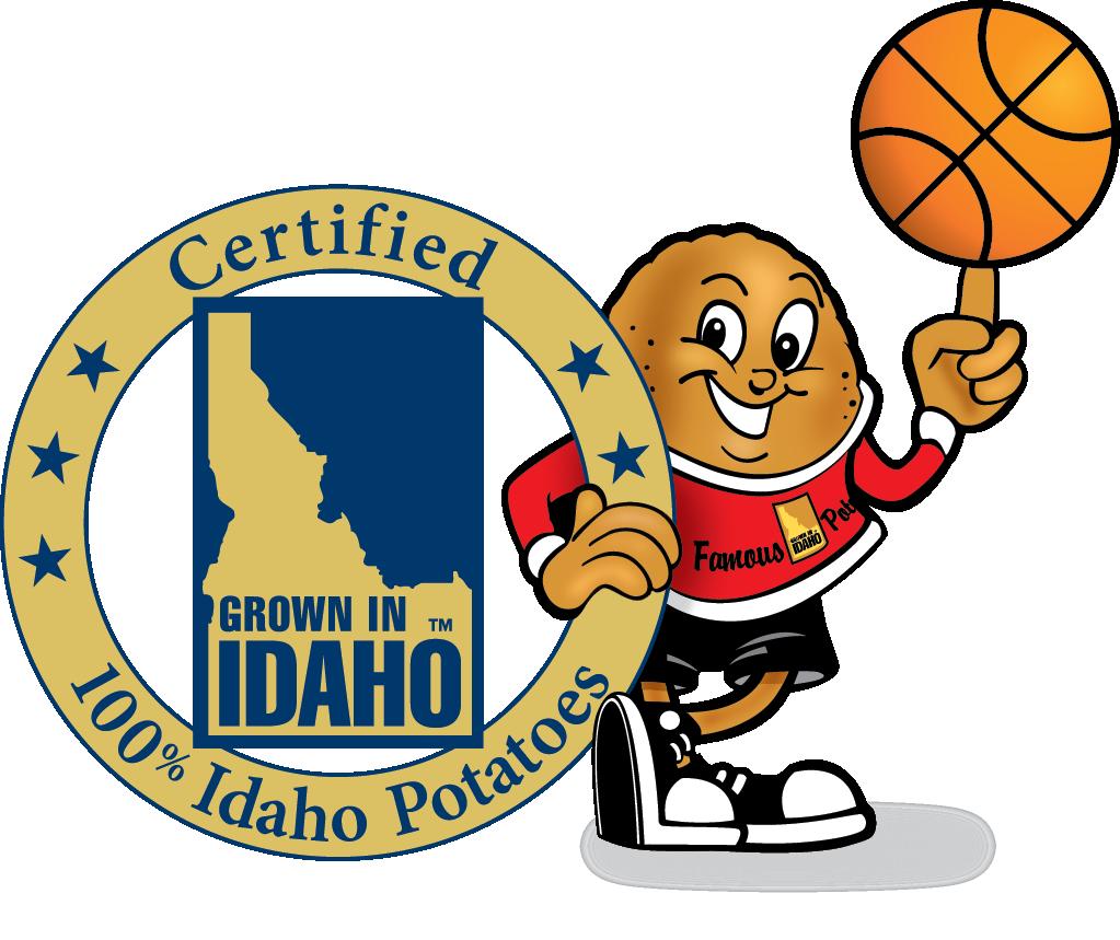 Clipart football basketball. Idaho potato commission