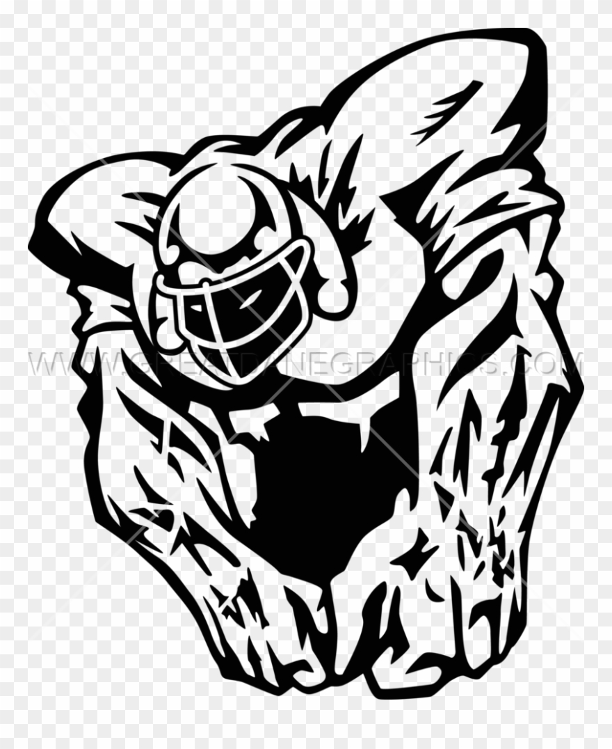 Drawing png . Football clipart beast