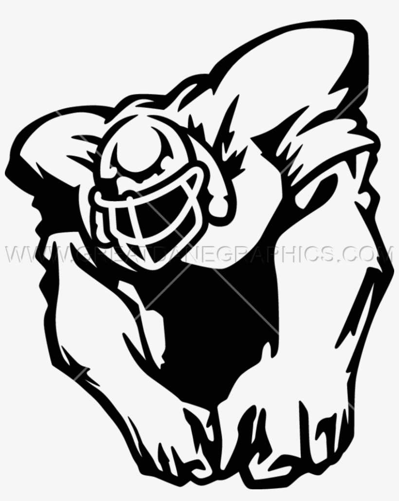 Football clipart beast. Png image