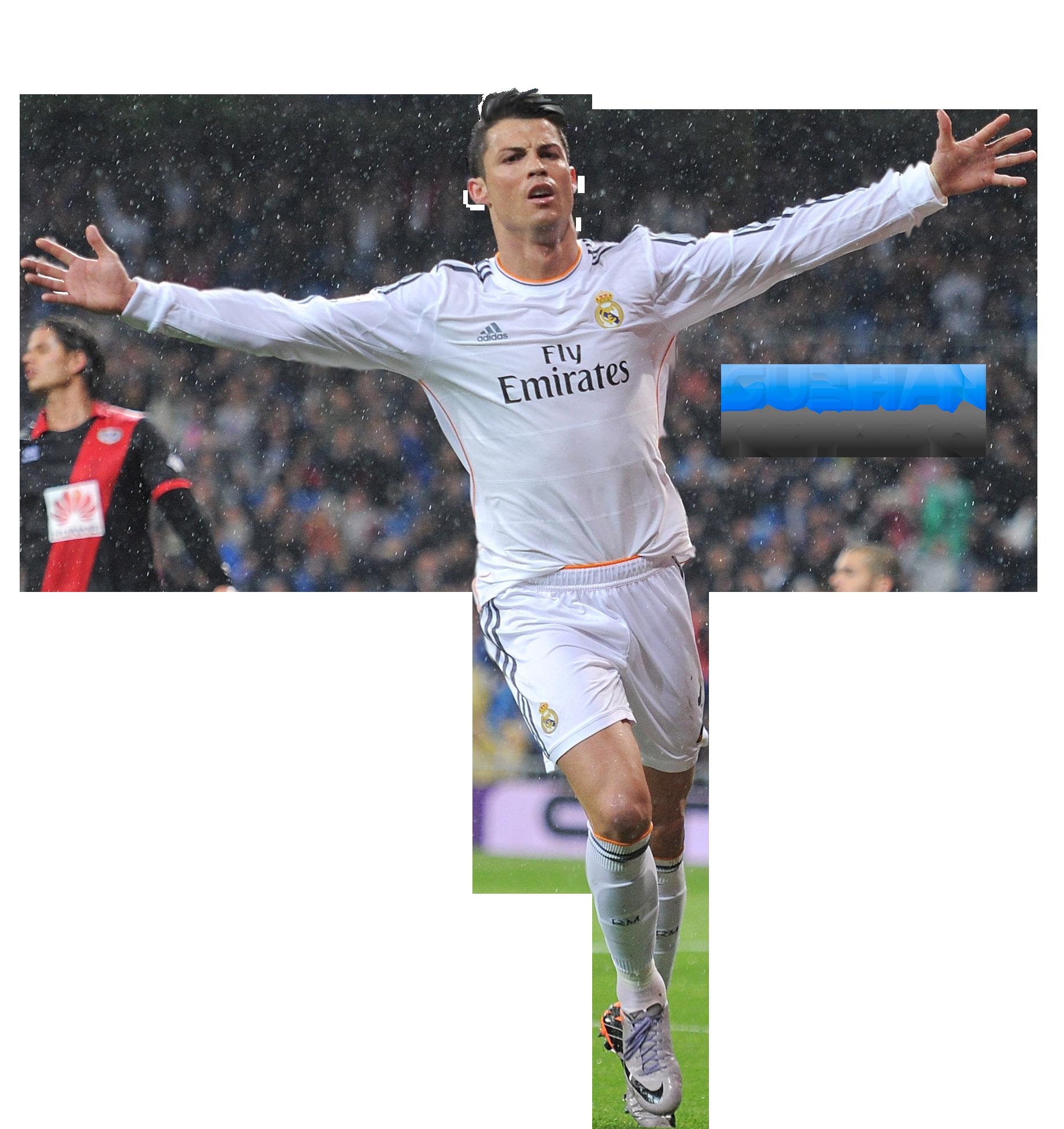 Ronaldo png . Clipart football celebration
