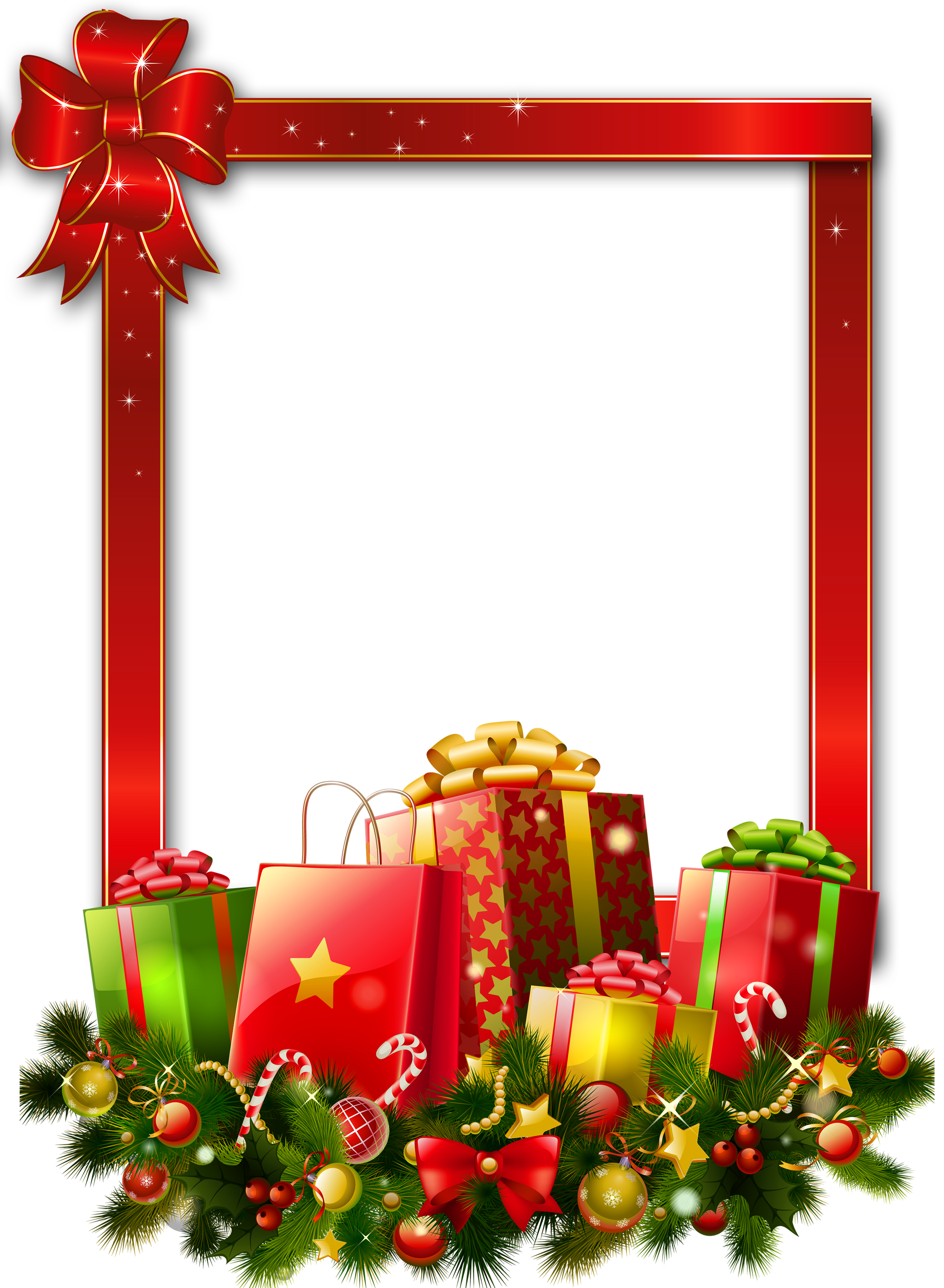 Red large transparent png. Clipart football christmas