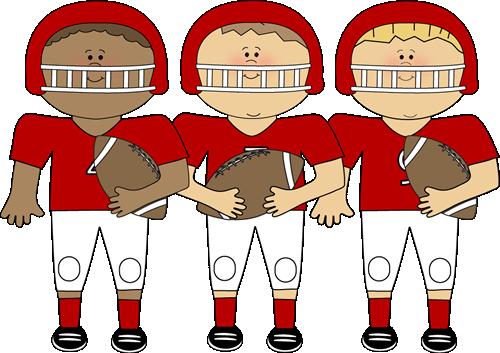 Football clipart cute. Clip art library