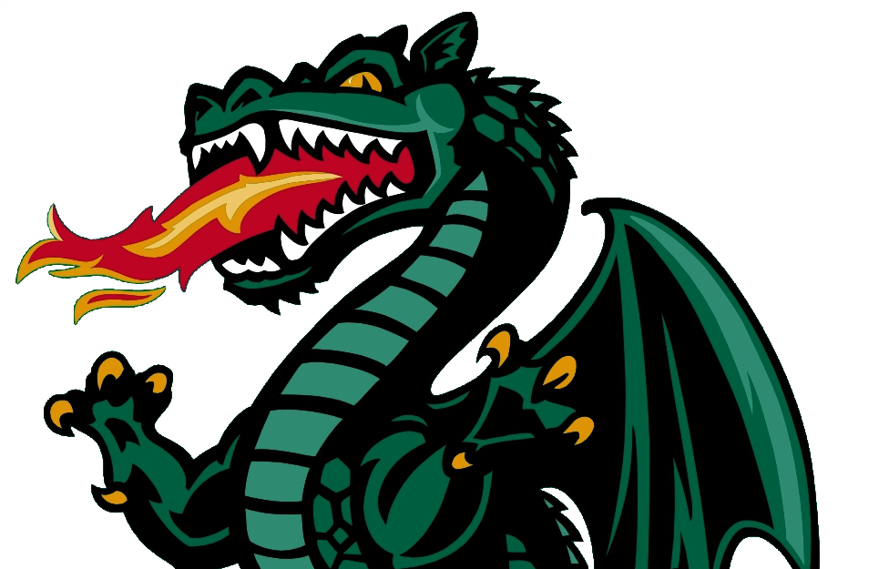 Clipart football dragon. Uab
