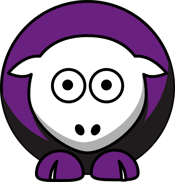 Sheep niagara purple team. Football clipart eagles