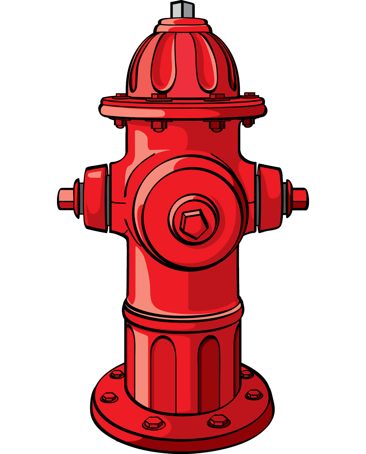 Firefighter clipart building. Fire hydrant clip art