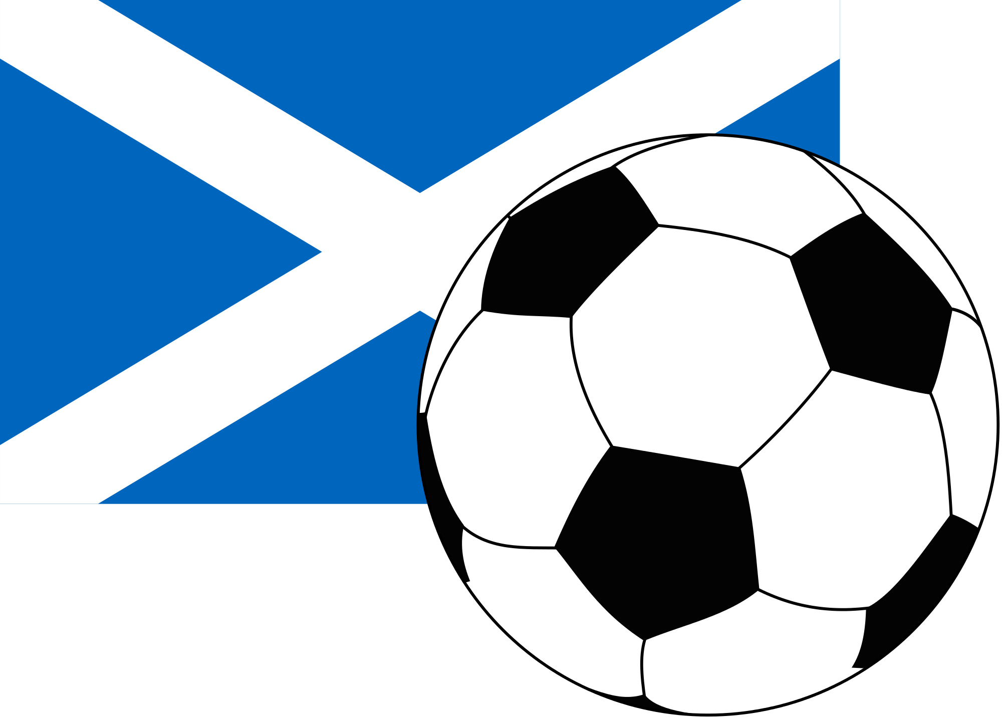 Clipart football flag. File of scotland with