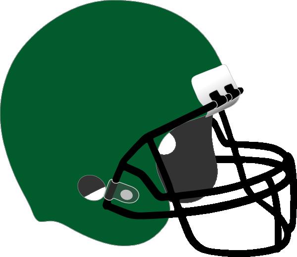 Patriots clipart helment. Green football helmet clip