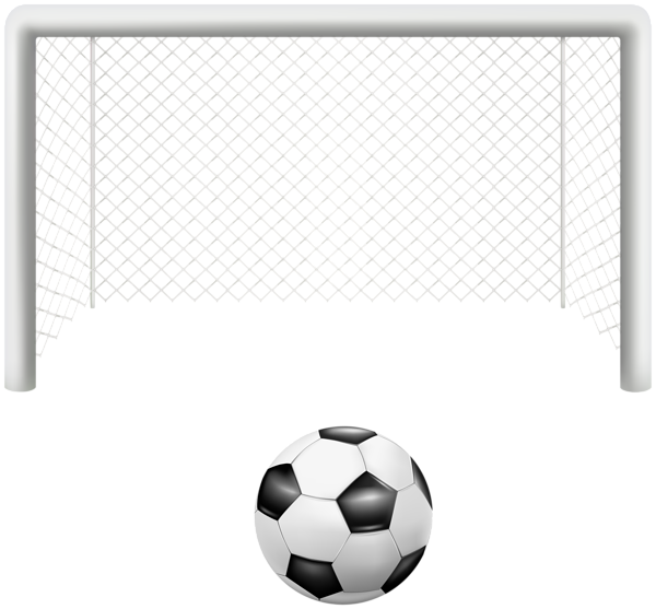 Gate and ball png. Football clipart corner