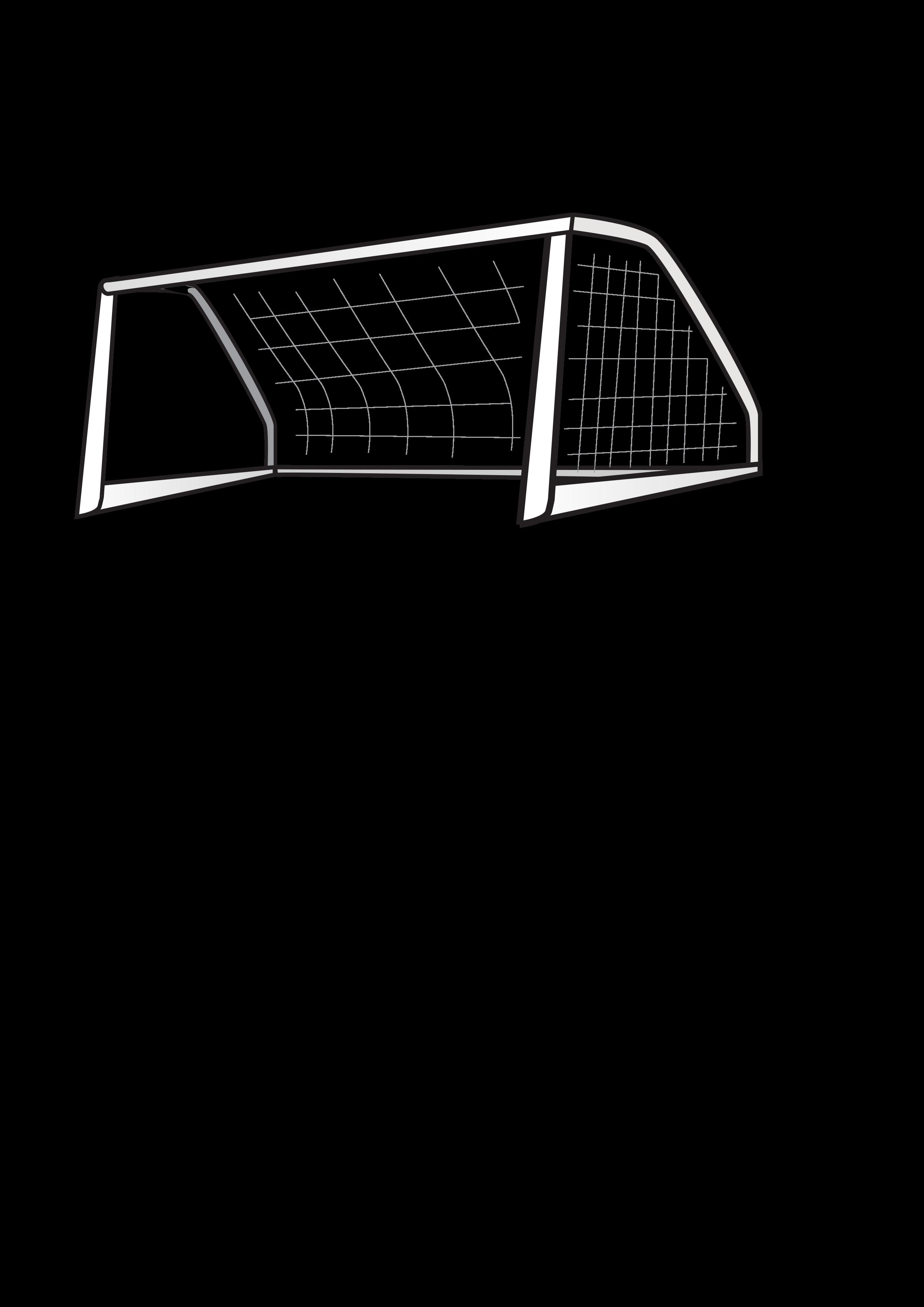 Goals clipart medium. Soccer goal big image