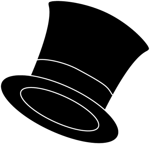 Fedora clipart groom hat. Small top pencil and