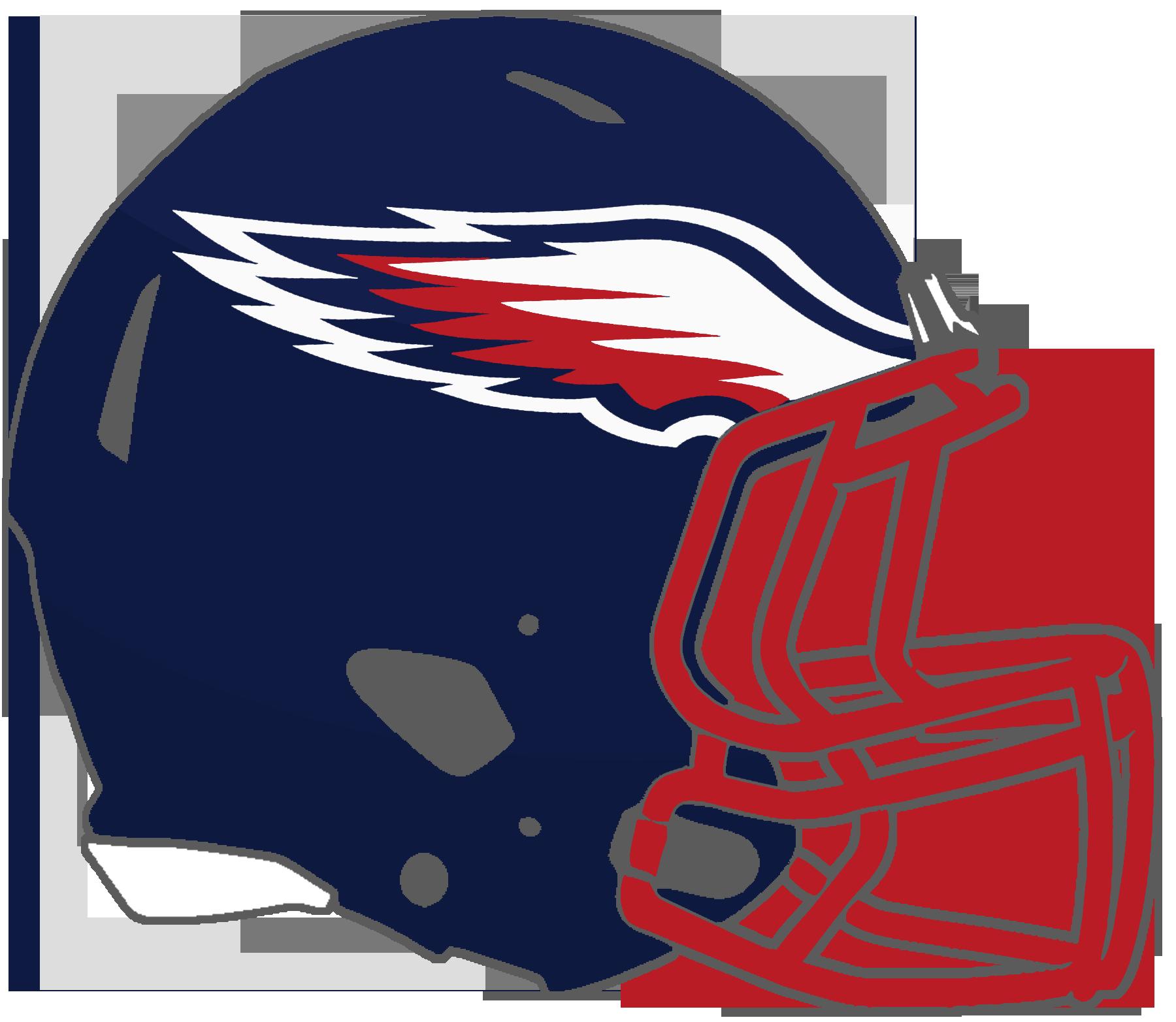 Clipart football hawk. Mississippi high school helmets
