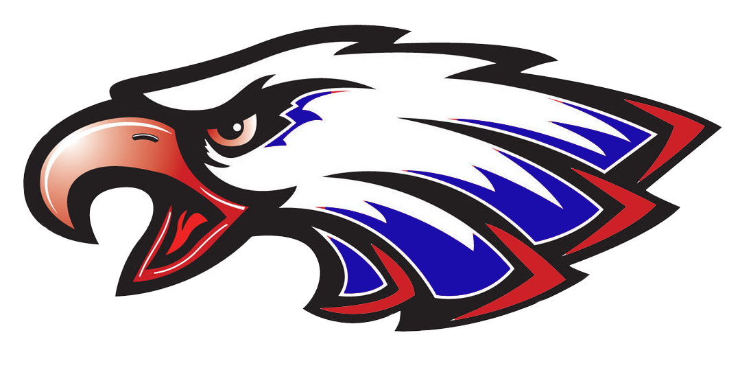 West craven team home. Clipart volleyball eagle