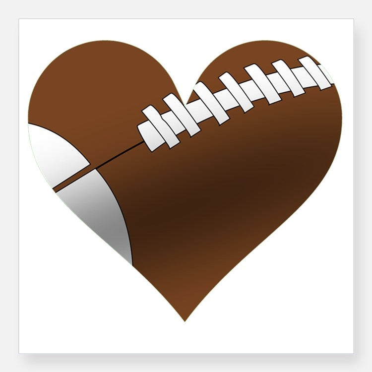 Free heart cliparts download. Hearts clipart football