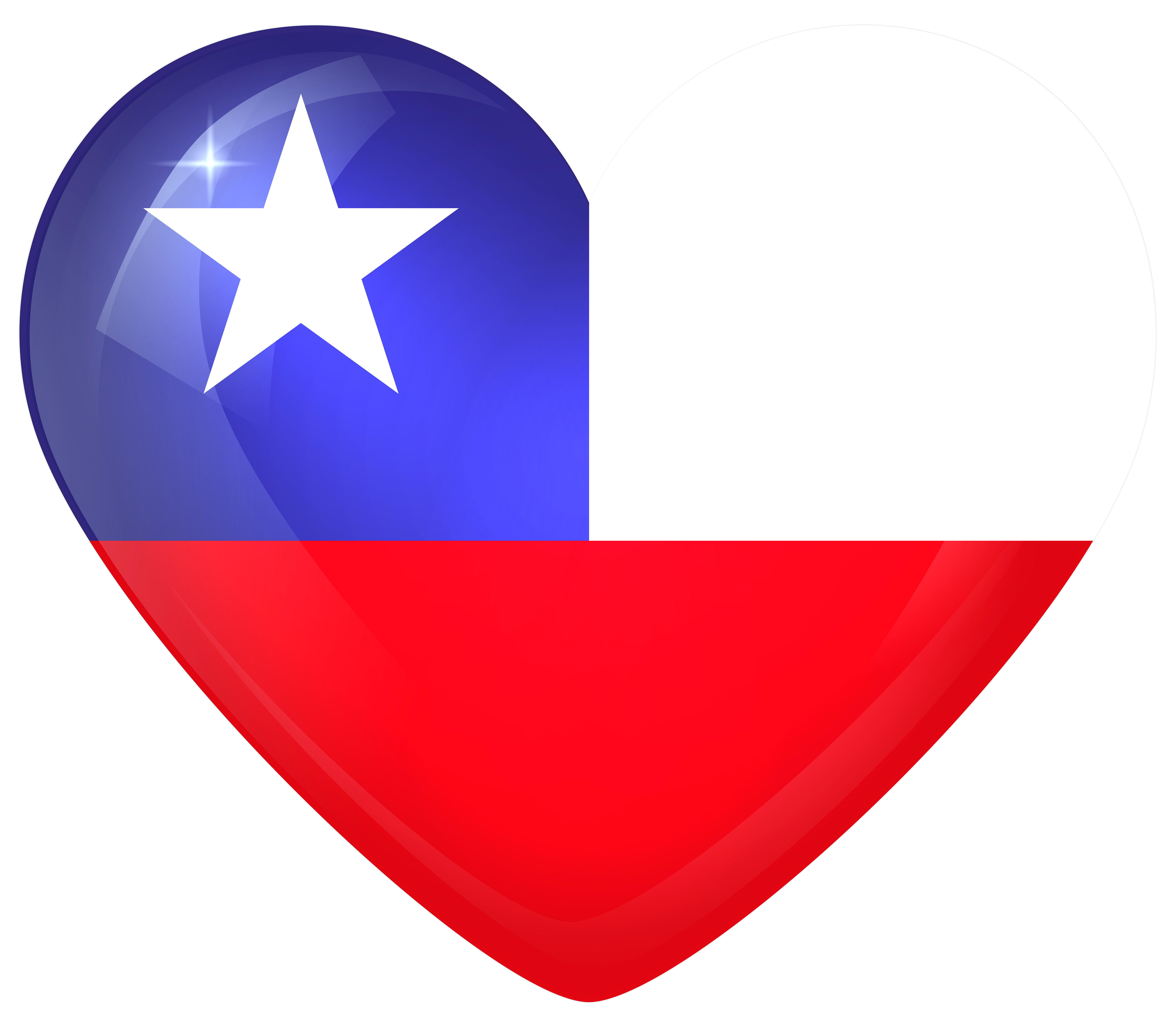 Chile large flag gallery. Clipart guitar heart