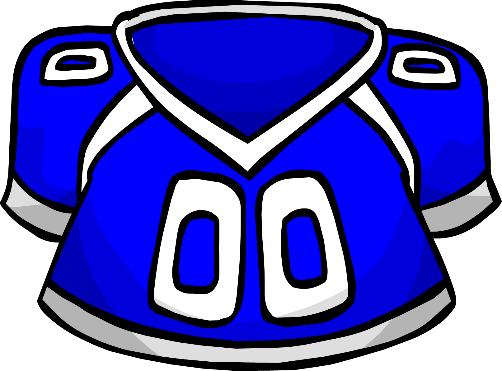 Image blue football jersey. Gear clipart teamwork