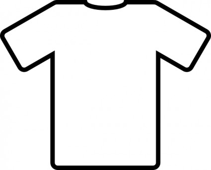 Free jersey download clip. Football clipart tshirt