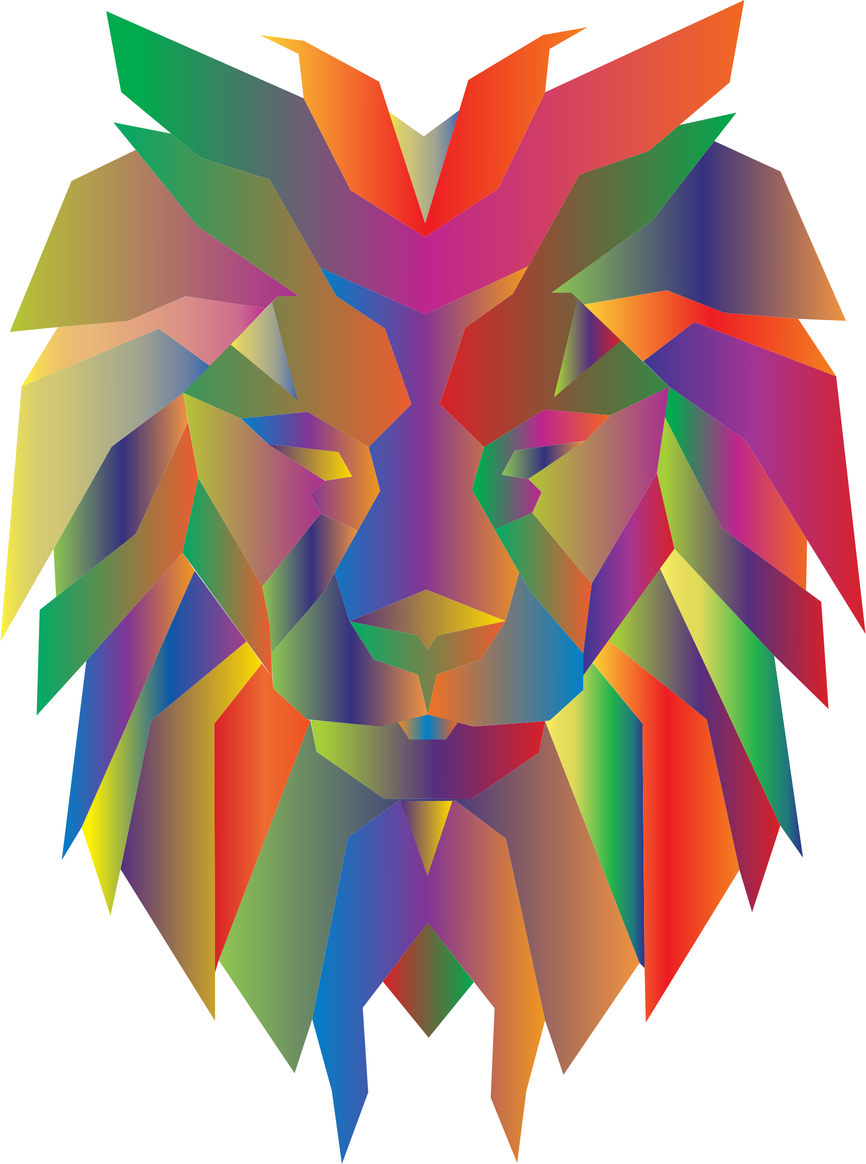 Face pictures free download. Clipart lion abstract