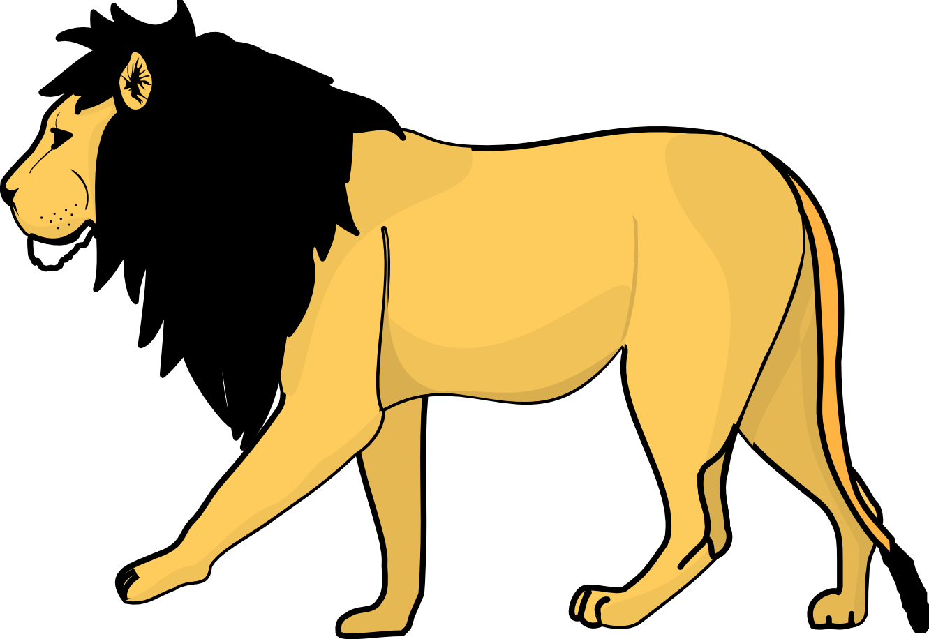 Clipart hand lion. Free images download clip