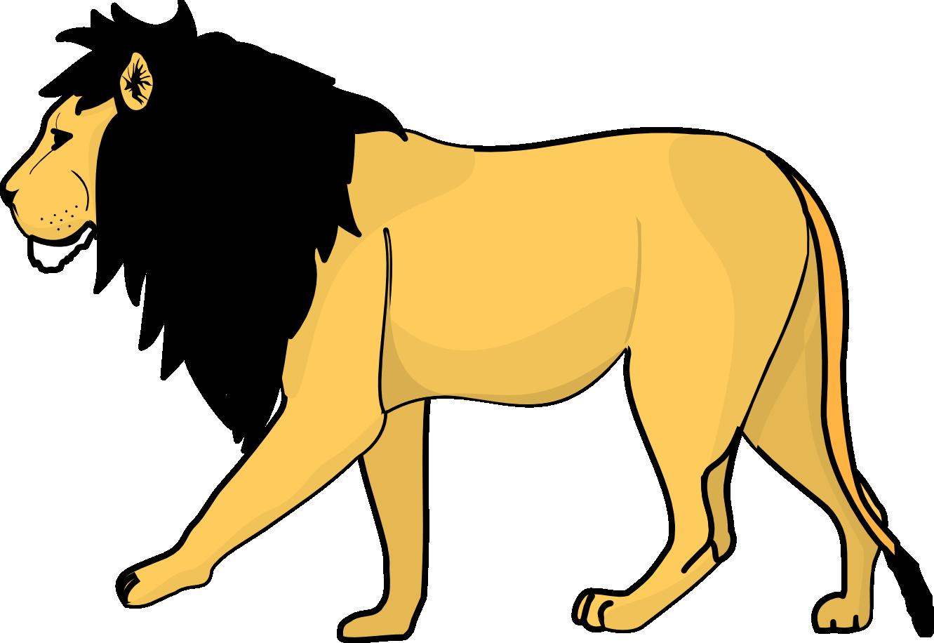 lions clipart rat