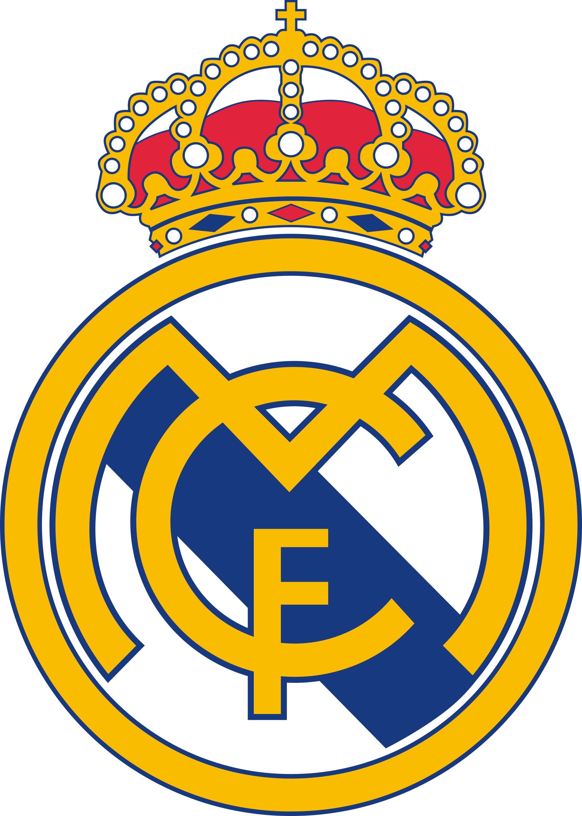 Real madrid logo png. Club clipart transparent background