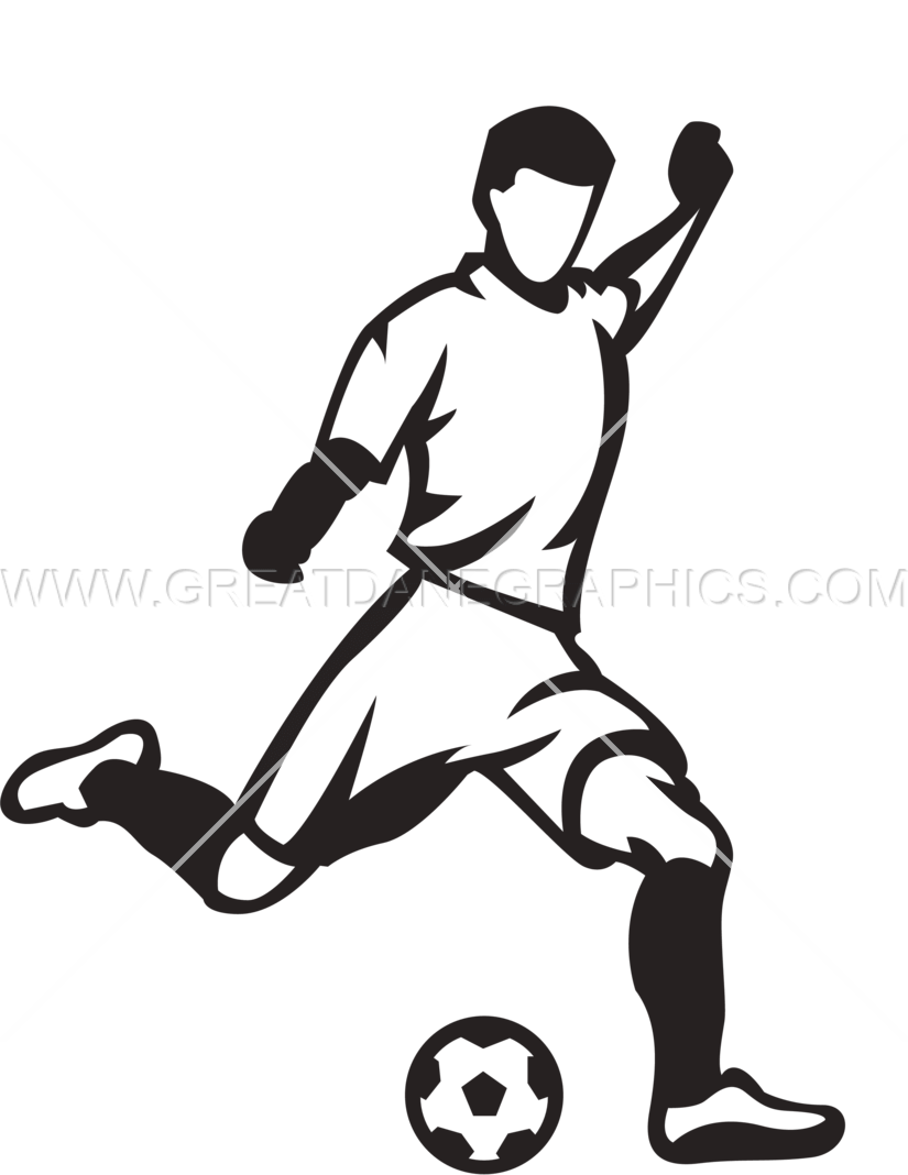 collection of player. Clipart football man