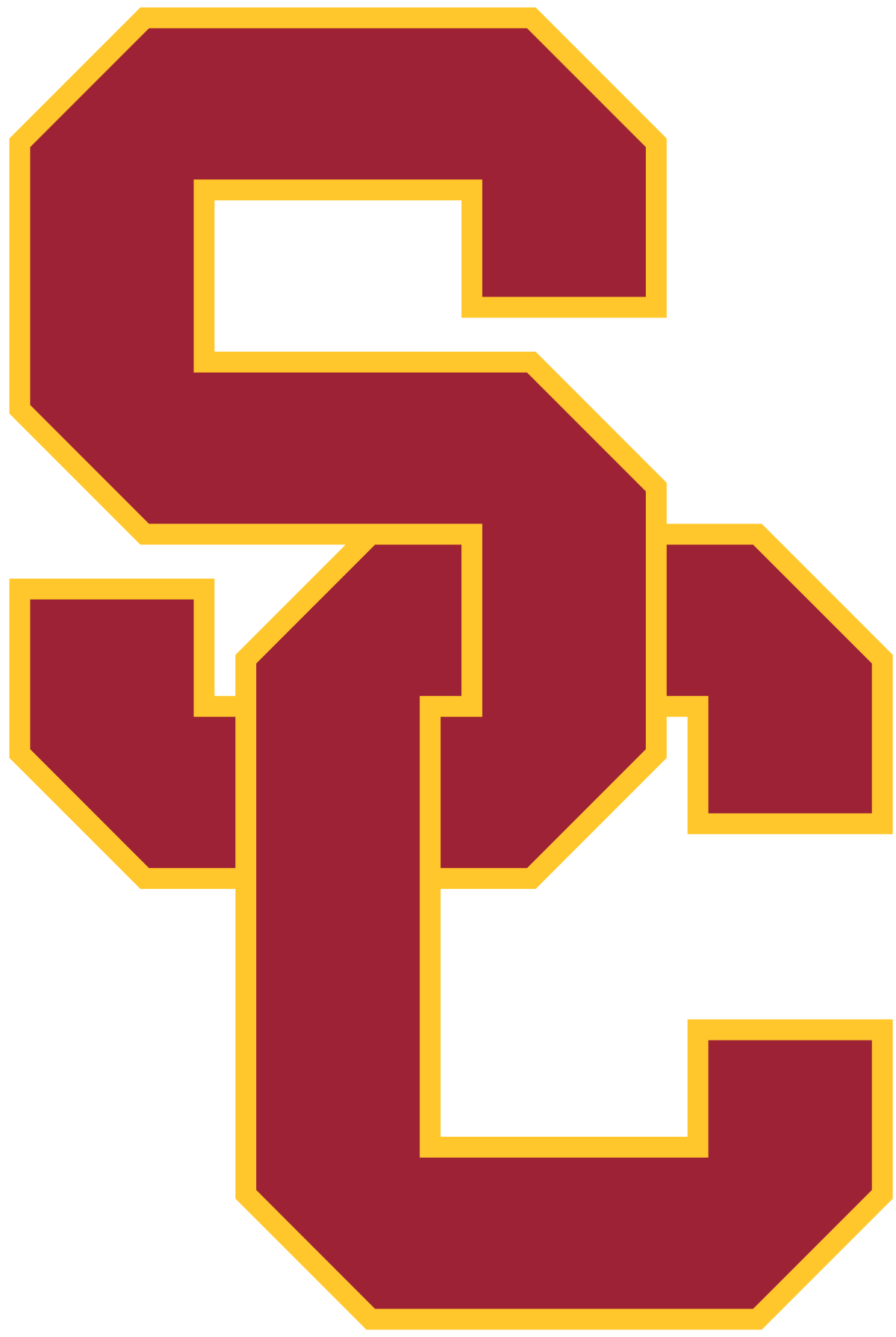 Number 1 clipart one time. Notre dame usc football