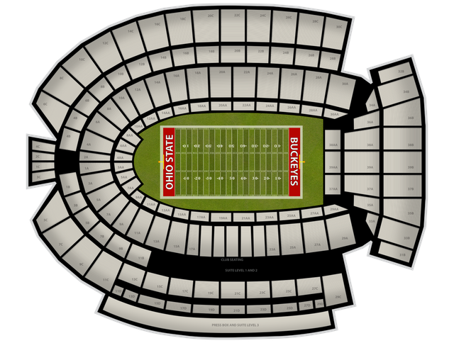 Michigan at stadium nov. Clipart football ohio state