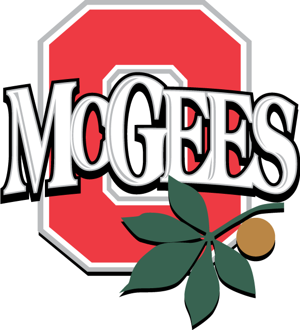 Clipart football ohio state. Mcgee s tavern grille