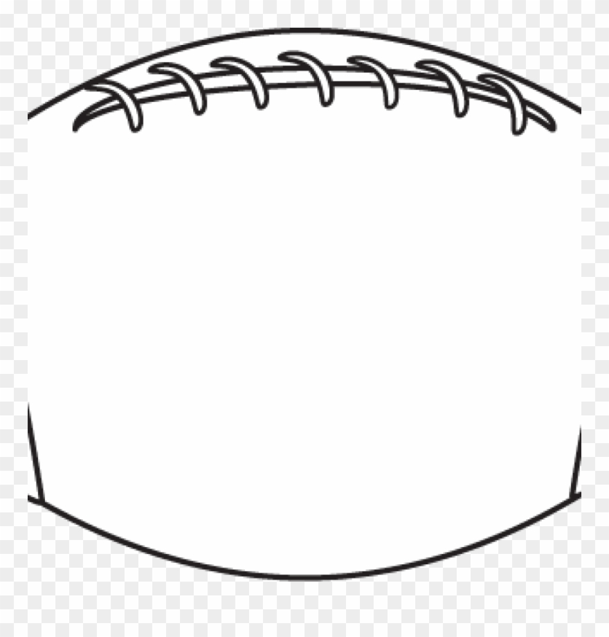 Image . Clipart football outline