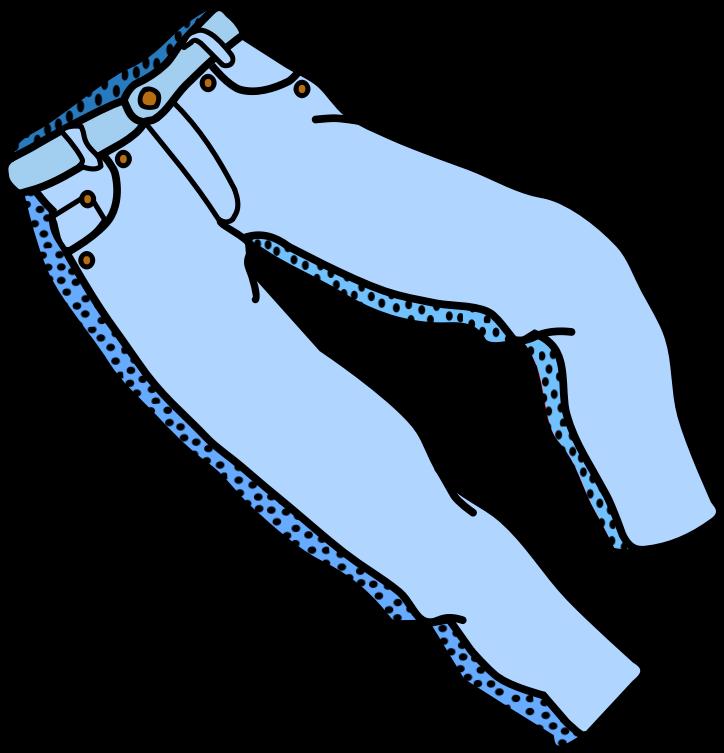 jeans clipart long pants