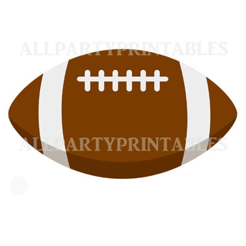 Printables image pdf . Clipart football printable
