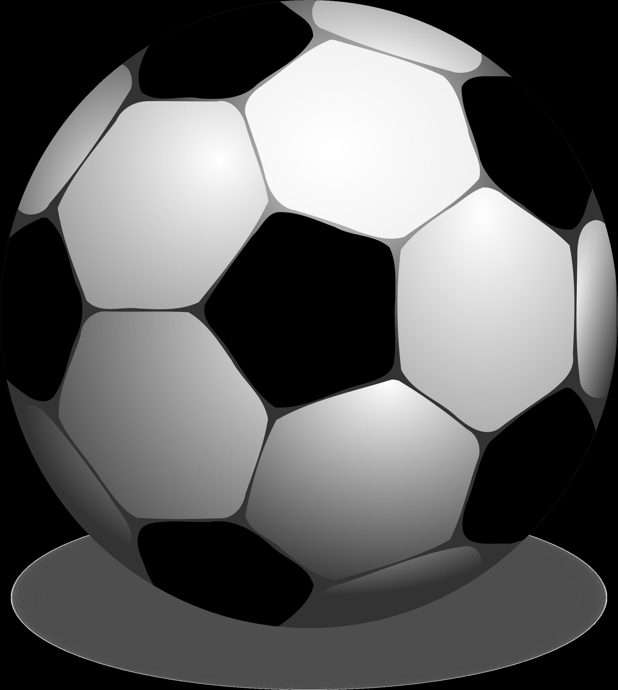 Clipart football printable. Futbolo kamuolys big image