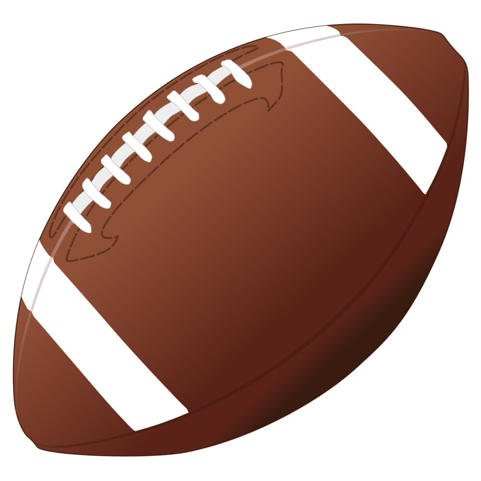September clipart football. Public domain clip art