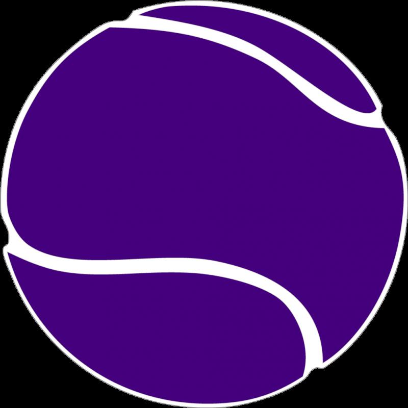 Tennis ball pencil and. Clipart football purple