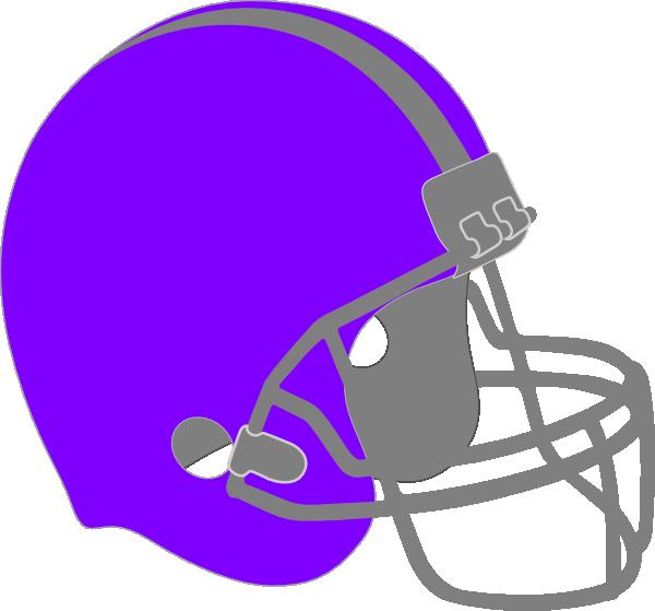 Helmet clip art at. Clipart football purple