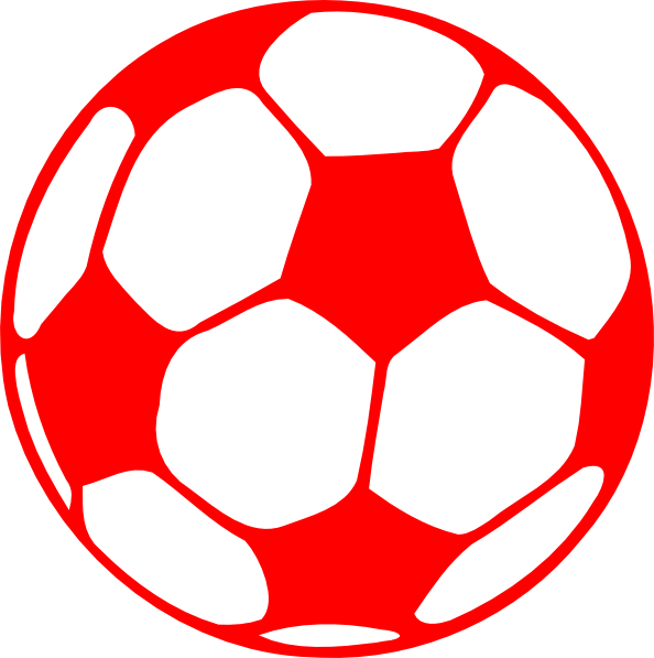 Red Football Clip Art at Clker