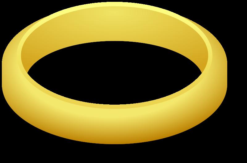 Finger clipart plain. Gold ring