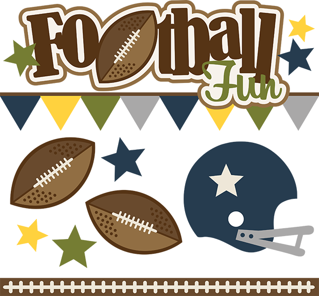 Clipart football scrapbook. Fun svg scrapbooking files