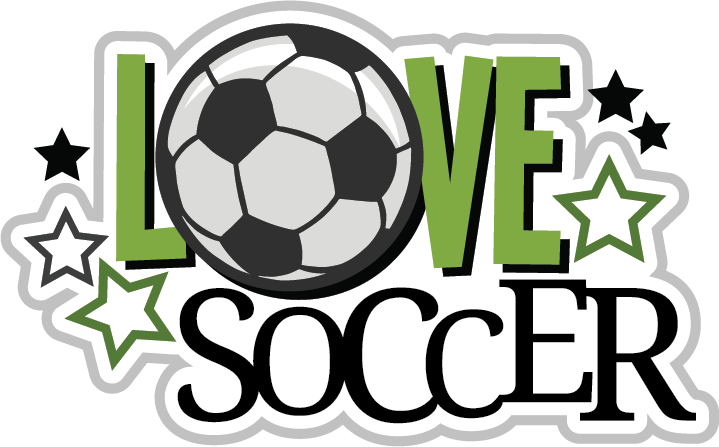 Clipart football scrapbook. Love soccer svg file