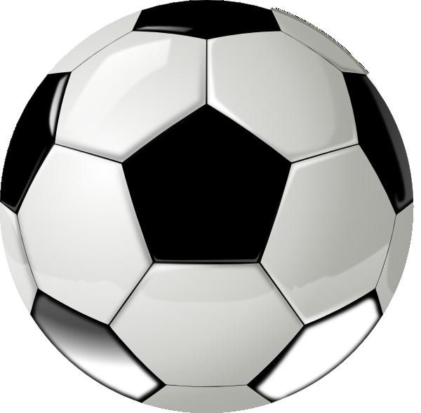 Real ball no clip. Football clipart shadow