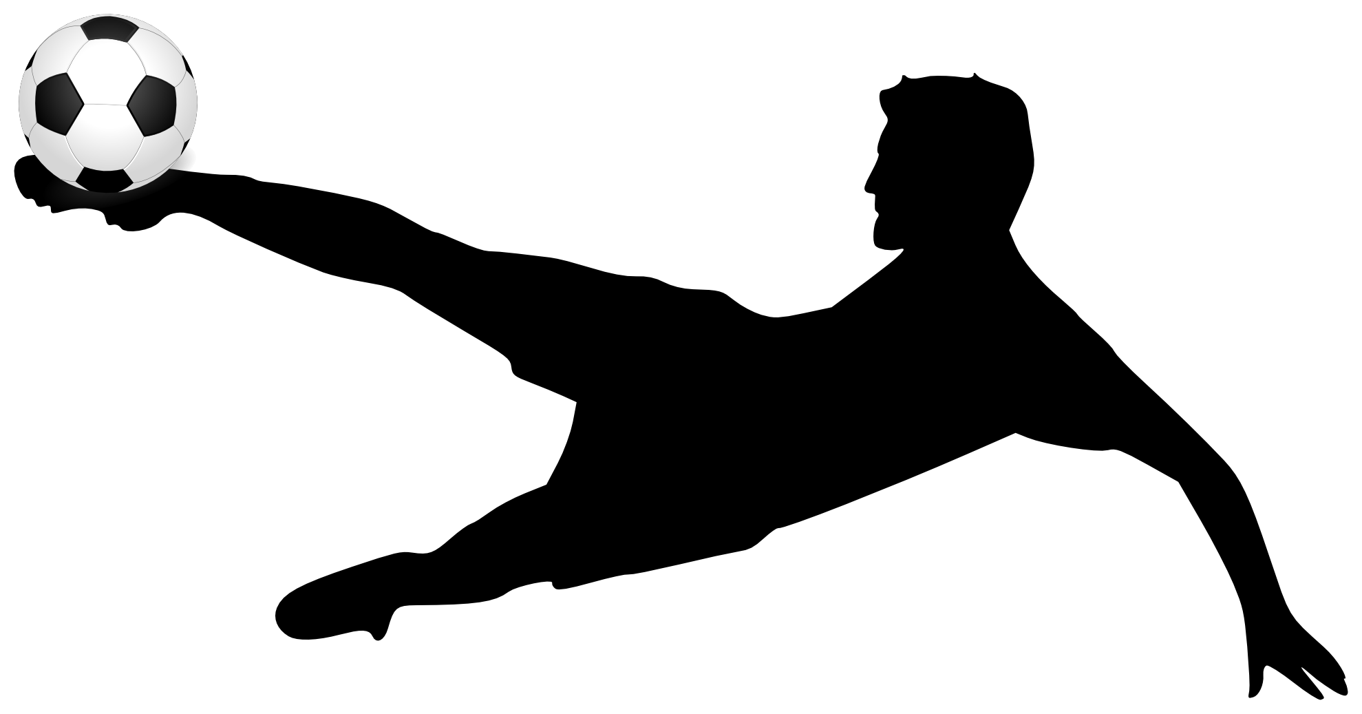 Soccer goal outline png. Clipart volleyball silhouette